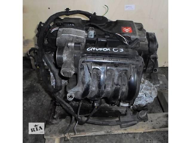 бу Б/у Двигатель Двигун голий Ситроен Citroen C3 бензин 1,4 2004 в Рожище
