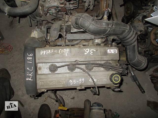 купить бу Б/у Двигатель Ford Escort 1.8 бензин 16V № RKC в Стрые