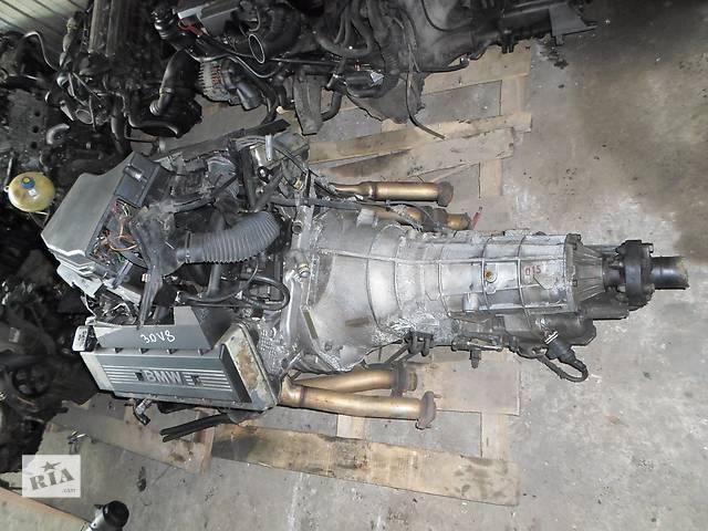 бу Б/у Двигатель М60 3,0л на БМВ Е32, Е34, Е38 M60B30 BMW 3.0 218л.с.160 кВт 1996г. в Рожище