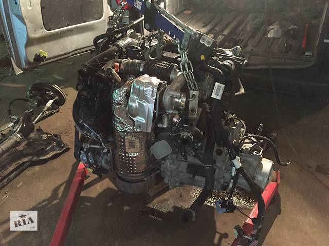 купить бу Б/у двигатель мотор для микроавтобуса Citroen Berlingo 1.6 hdi в Ковеле