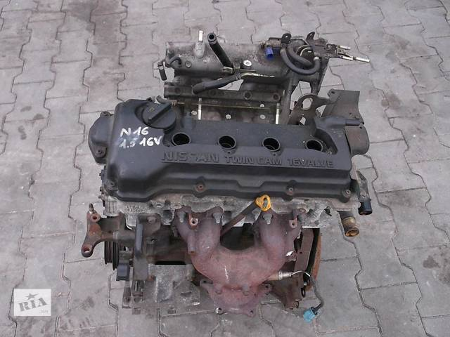 продам Б/у двигатель Nissan Almera бу в Киеве