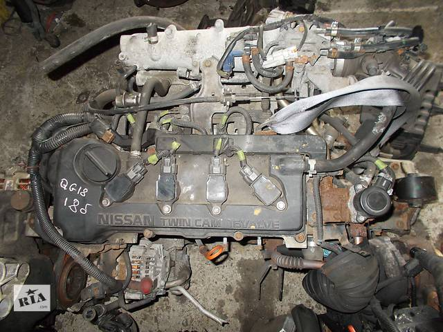Б/у Двигатель Nissan Avenir 1,8 бензин 16V № QG18DE 1998-2006- объявление о продаже  в Стрые