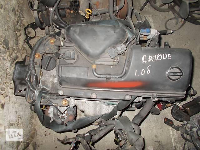 бу Б/у Двигатель Nissan Micra 1.0 бензин 16V № CR10DE в Стрые