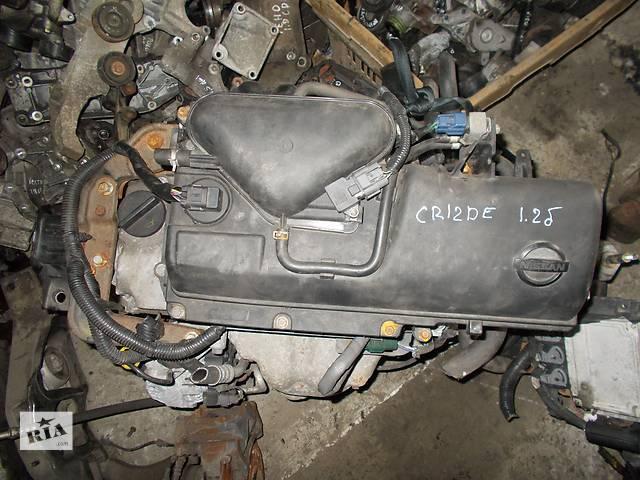 купить бу Б/у Двигатель Nissan Wingroad 1.2 бензин 16V № CR12DE в Стрые