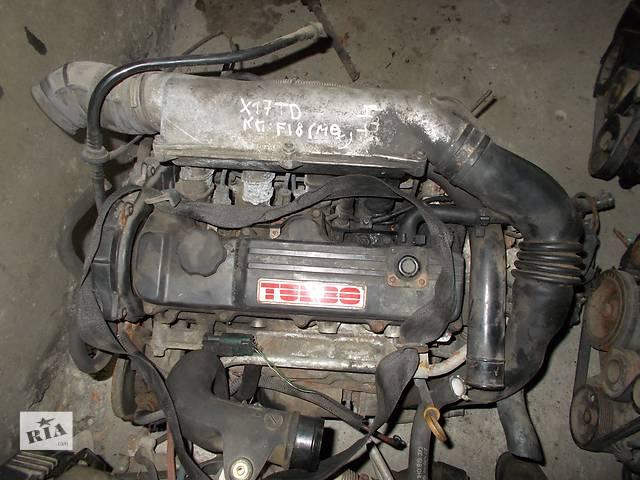 купить бу Б/у Двигатель Opel Astra F 1,7td isuzu в Стрые