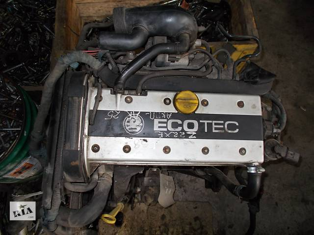 Б/у Двигатель Opel Astra G 2.2 бензин 16V № Z22XE- объявление о продаже  в Стрые