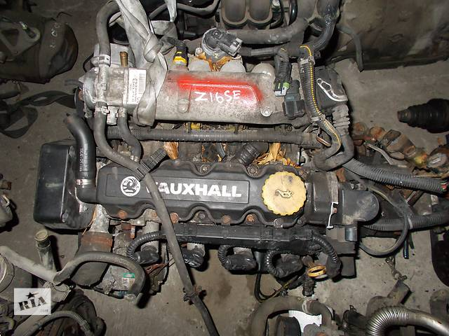 продам Б/у Двигатель Opel Meriva 1,6 бензин 8V № Z16SE бу в Стрые