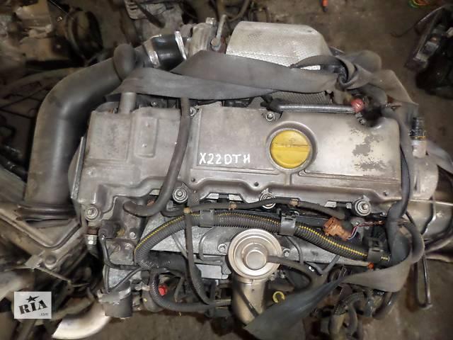 купить бу Б/у Двигатель Opel Omega B 2,2TD DTI № X22DTH в Стрые