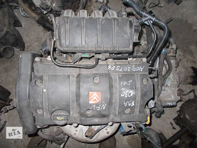 бу Б/у Двигатель Peugeot 206 1,6 бензин 16V № PSA NFU 2000-2007 в Стрые