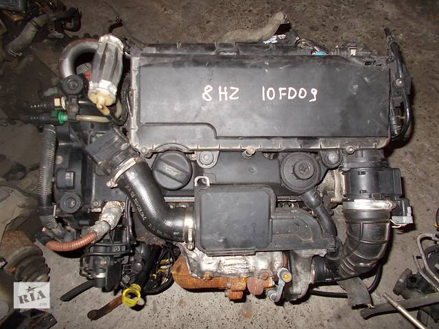купить бу Б/у Двигатель Peugeot 207 1.4 hdi № 8HZ 10FD09 2006-2011 в Стрые