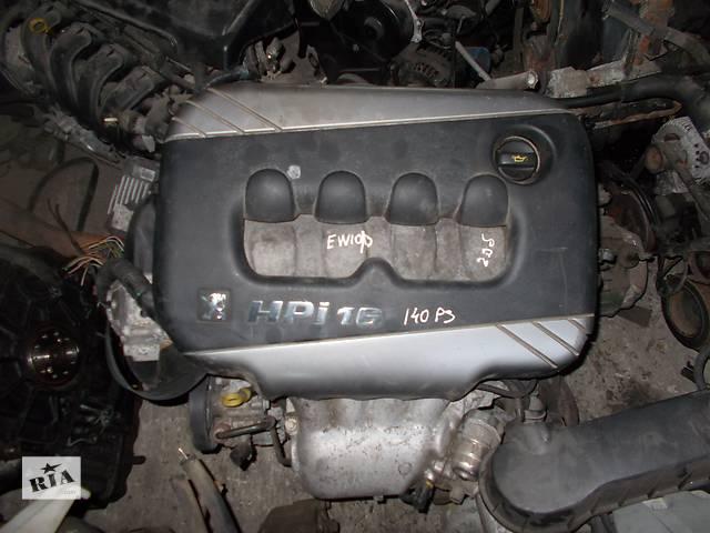 продам Б/у Двигатель Peugeot 406 2.0 бензин hpi 16V № EW10/D бу в Стрые
