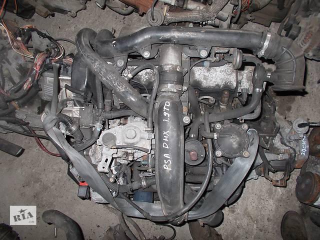 купить бу Б/у Двигатель Peugeot 806 1,9TD № PSA DHX 1994-2002 в Стрые