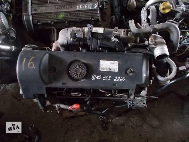 Б/у Двигатель Renault Master 2,8DCI № 8140.43s 2220- объявление о продаже  в Стрые