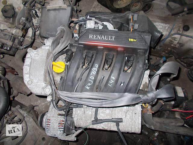 бу Б/у Двигатель Renault Megane 1.4 бензин 16V № K4JD730 в Стрые