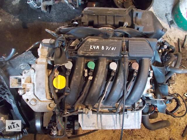Б/у Двигатель Renault Megane 1,6 бензин 16V № K4M B 7/01- объявление о продаже  в Стрые