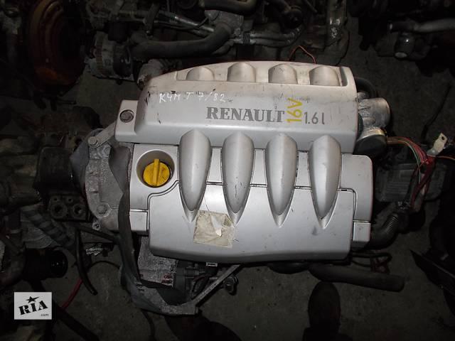 купить бу Б/у Двигатель Renault Scenic 1,6 бензин 16V № K4M T 7/82 в Стрые