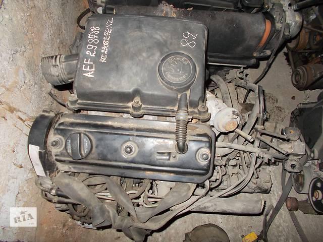 купить бу Б/у Двигатель Skoda Pickup 1.9 D SDI № AEF 1996-2001 в Стрые