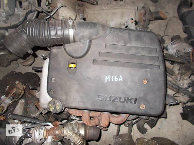 продам Б/у Двигатель Suzuki Liana 1.6 бензин 16V № M16A бу в Стрые