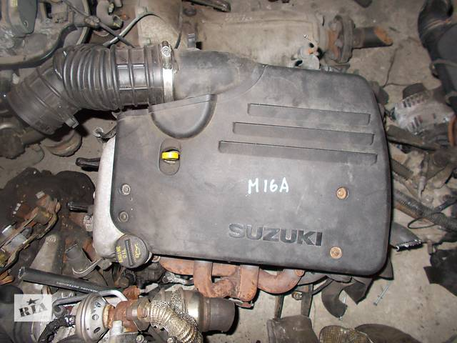 бу Б/у Двигатель Suzuki Liana 1,6 бензин 16V № M16A в Стрые