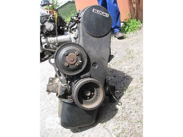 продам Б/у двигатель Suzuki Swift 1.0 бензин 1989-2003 бу в Броварах