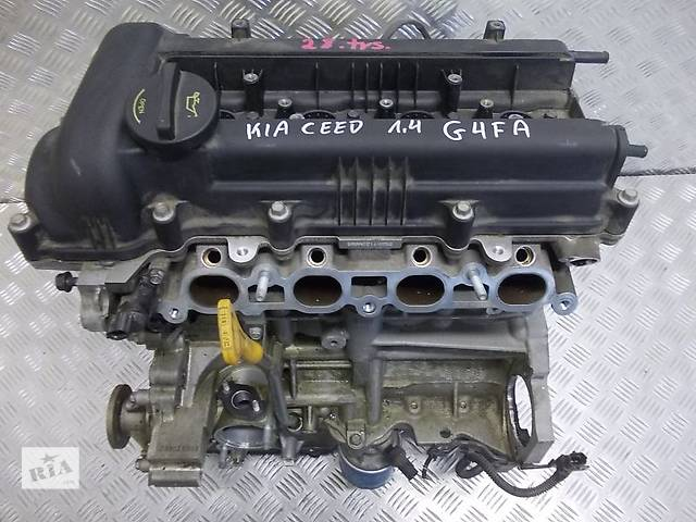купить бу Б/у Двигатель в сборе Hyundai Accent 1.4 G4FA в Киеве