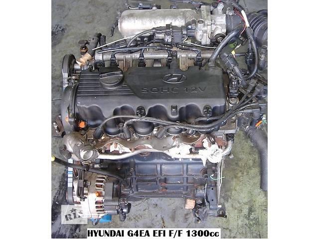 бу Б/у Двигатель в сборе Hyundai Getz 1.3 G4EA в Киеве