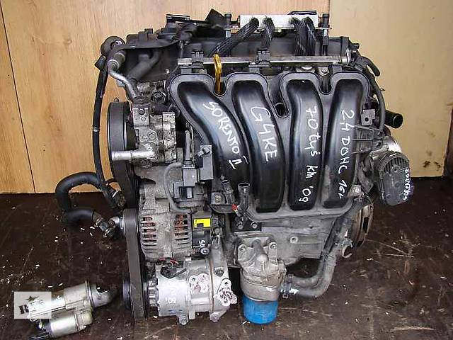 купить бу Б/у Двигатель в сборе Kia Sorento 2.4 G4KE в Киеве