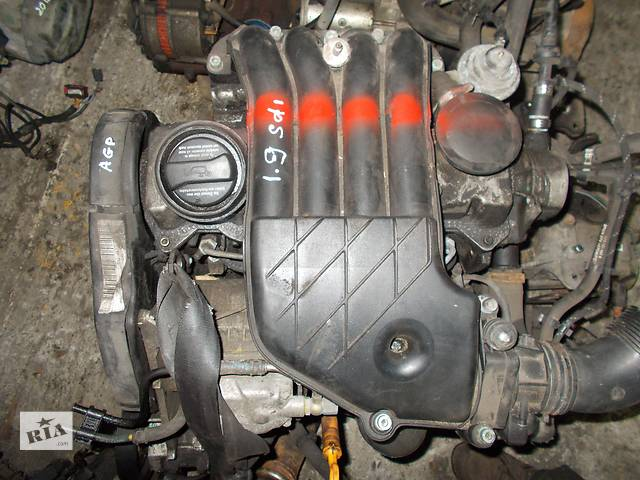 продам Б/у Двигатель Volkswagen Bora 1,9sdi № AGP 1998-2005 бу в Стрые