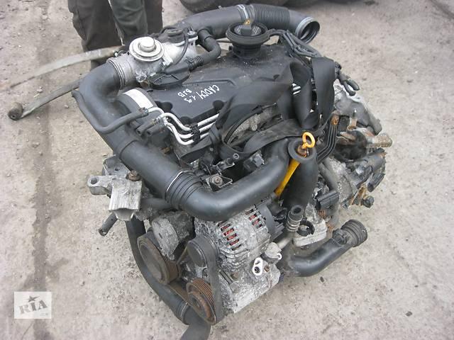 купить бу Б/у двигатель Volkswagen Caddy 1.9 tdi в Ровно