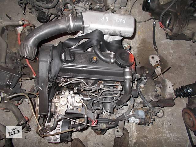 продам Б/у Двигатель Volkswagen Caddy 1,9d № 1Y бу в Стрые