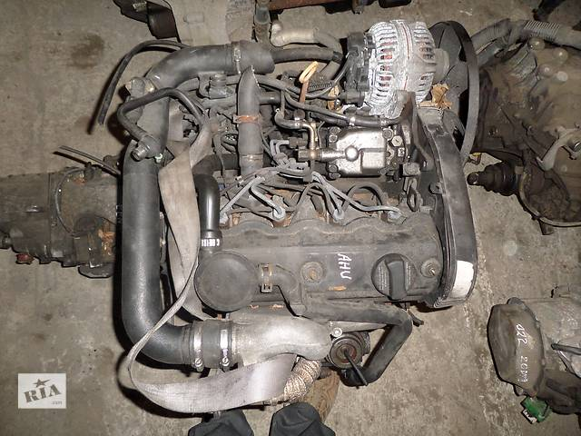 продам Б/у Двигатель Volkswagen Caddy 1,9tdi № AHU бу в Стрые