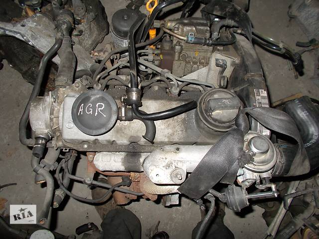 купить бу Б/у Двигатель Volkswagen Golf IV 1.9 tdi № AGR в Стрые