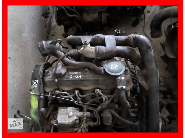 бу Б/у Двигатель Volkswagen Passat B3 1,9tdi № 1Z в Стрые
