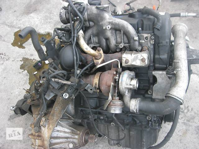 бу Б/у двигатель Volkswagen T5 1.9 tdi AXB в Ровно