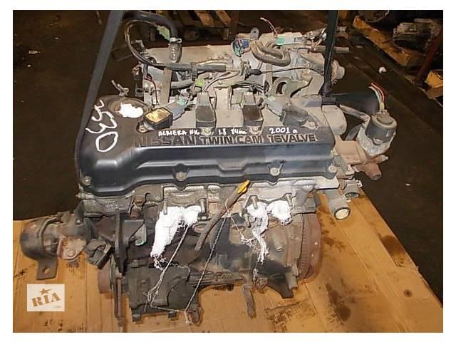 купить бу Б/у двигун для легкового авто Nissan Almera 1.8 в Ужгороде