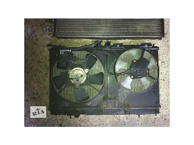 купить бу Б/у диффузор с вентилятором  Mitsubishi Lancer 2007 в Львове