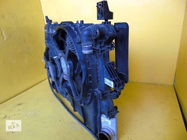 купить бу Б/у диффузор с вениляторами Citroen JumperIII Ситроен Сітроен Джампер 2,2/2,3 c 2006- в Ровно