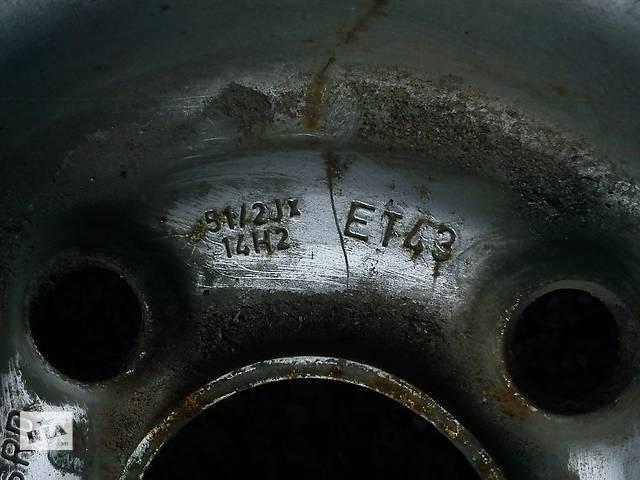 """продам Б/у диск 14"""" ET43 4x100 для легкового авто бу в Киеве"""