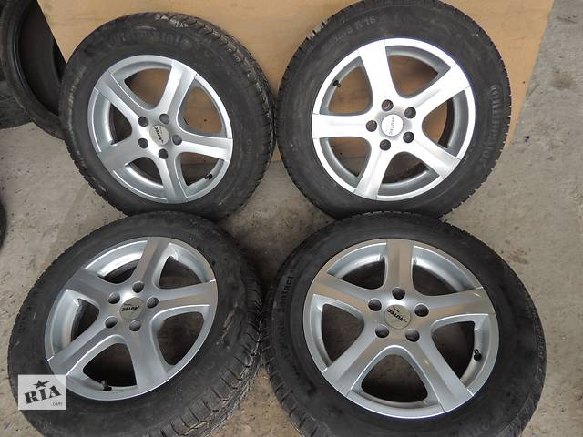 бу Б/у диск Autec R16 5x112 7jet48 VW Golf 6 7 Jetta Caddy Audi A3 A4 Skoda Superb в Львове
