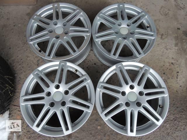 купить бу Б/у диск CMS R16 5x112 7j et42 Audi A4 A6 Skoda Superb Octavia A5 Yeti VW Golf в Львове