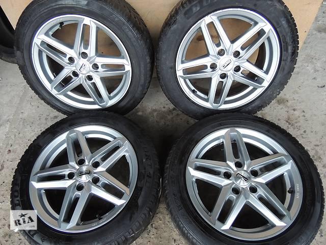 купить бу Б/у диск CMS R16 5x112 7j et45 Audi A4 A6 VW Caddy Jetta Passat Golf Mercedes в Львове