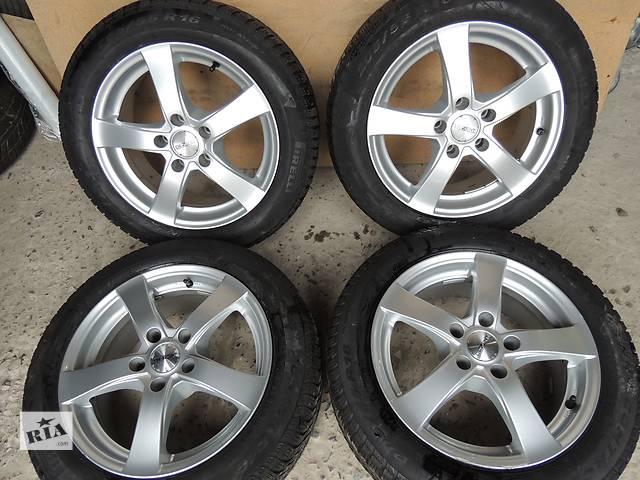 бу Б/у диск  DEZENT №2 R16 5x112 7j et40 Skoda Superb Octavia Mercedes Vito VW Golf в Львове