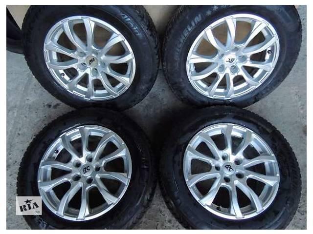 продам Б/у диск для Audi VW R16 5x112 7.5j et37 Passat B6 B7 B8 A4 A6 A8 Skoda Octavia бу в Львове