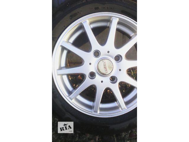 Б/у диск для легкового авто Dezent R14 4/114.3- объявление о продаже  в Львове