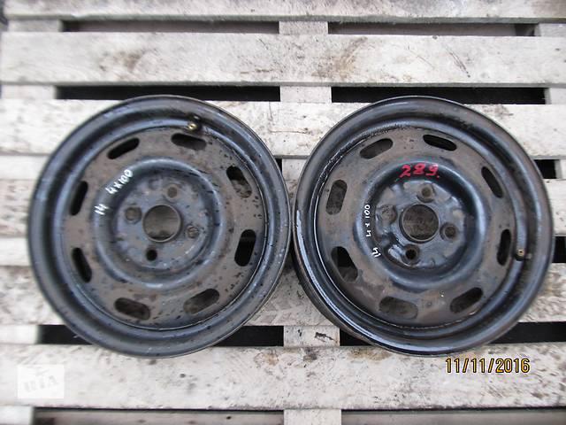 бу Б/у Диск колесный Mazda R14 4x100 MD 814x5.5JJ в Ровно