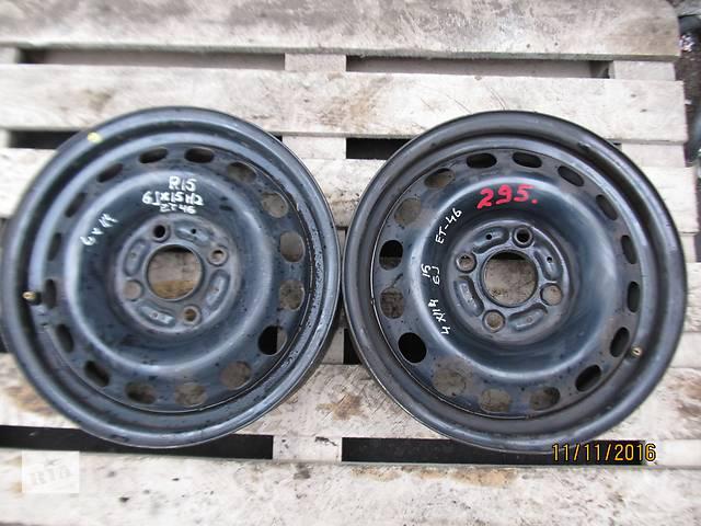продам Б/у диск колесный Mitsubishi R15 4x114,3 6Jx15H2 ET46 бу в Ровно
