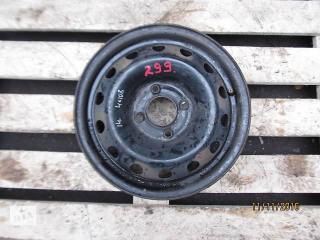 продам Б/у Диск колесный Peugeot Citroen R14  4x108 5.5Jx14CHB ET34 бу в Ровно