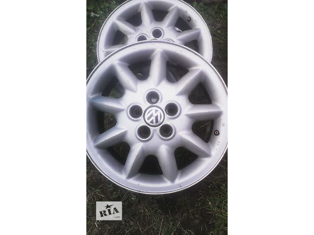 продам Б/у диск для легкового авто Skoda Octavia VW 2003 R15 5/100 бу в Львове