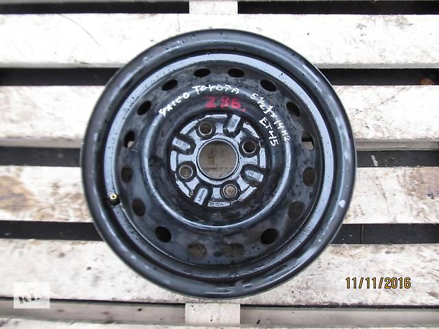 Б/у диск колесный Toyota Yaris R14 4x100 5.5Jx14H2 ET45- объявление о продаже  в Ровно