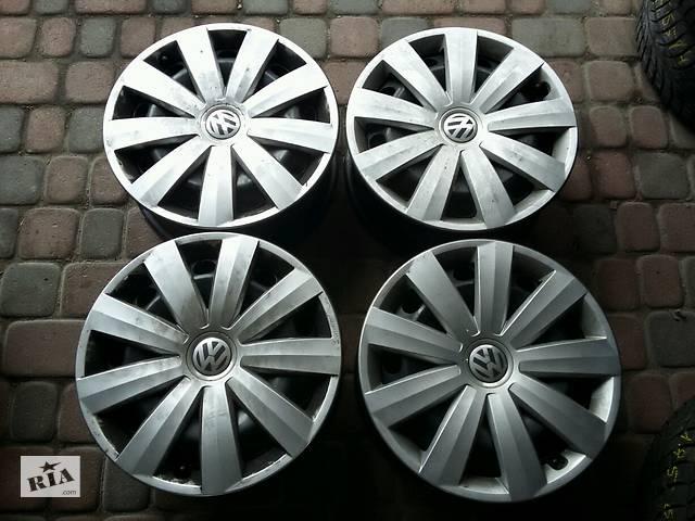 купить бу Б/у диск для Volkswagen Passat R16 5x112 в Бродах (Львовской обл.)